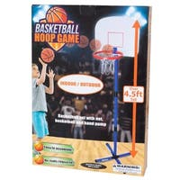 Daily Basic Kids Small Size Lightweight Indoor and Outdoor Basketball Hoop Game