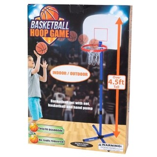 Daily Basic Kids Small Size Lightweight Indoor & Outdoor Basketball Hoop Game