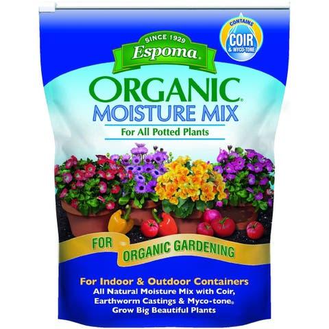 Espoma MM8 Organic Moisture Mix Potting Soil, 8 Quart