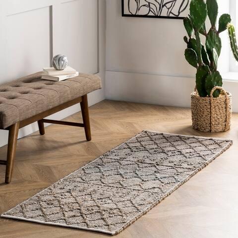 nuLOOM Athena Textured Trellis Area Rug