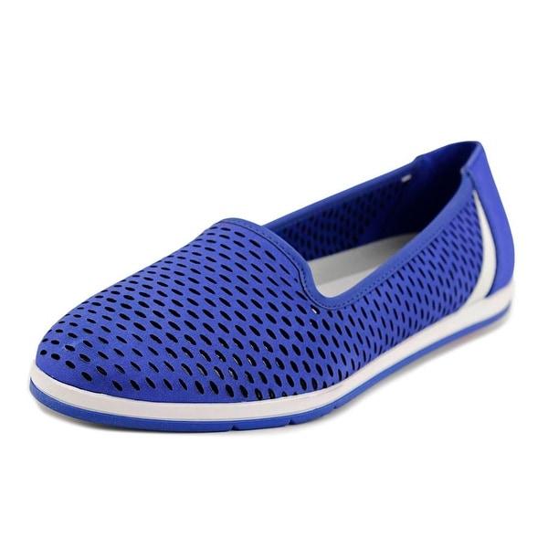 Aerosoles Smart Move Women Round Toe Leather Blue Loafer