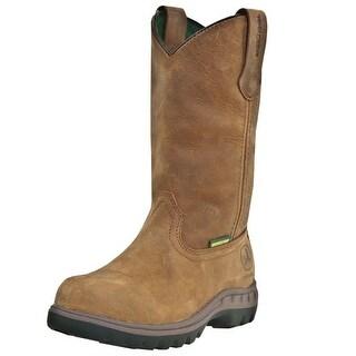 John Deere Work Boots Womens Wellington Waterproof Poplar