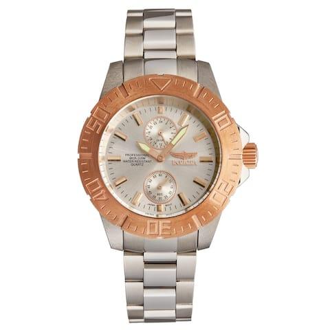 Invicta Men's 14057 'Pro Diver' Two-Tone Stainless Steel Quartz Watch