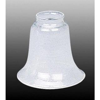 "Volume Lighting GS-157 4.75"" Height Clear Seedy Glass Bell Ceiling Fan Light Kit"