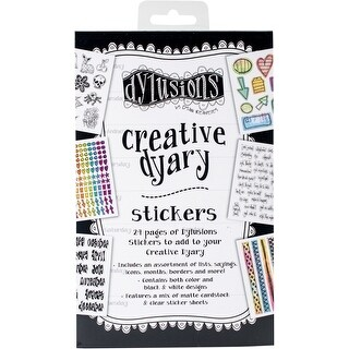 Dyan Reaveley's Dylusions Creative Dyary Sticker Book-