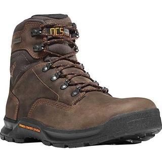 """Danner Men's Crafter 6"""" Non Metallic Toe Boot Brown Nubuck"""