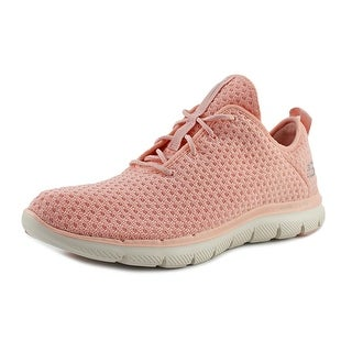 Skechers Flex Appeal 2.0-Bold Move Women Round Toe Canvas Pink Sneakers