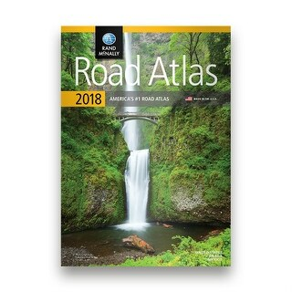Rand McNally 0528017314 Rand McNally 2018 Road Atlas