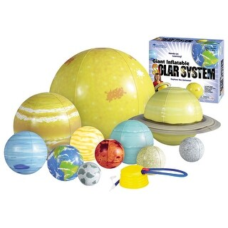 Giant Inflatable Solar System - Blow-up Planets for Classroom or Play - MultiColor