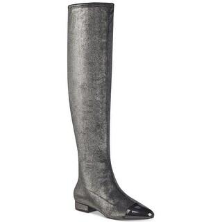 Ivanka Trump Womens Alie Pointed Toe Over Knee Fashion Boots
