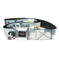 Attack on Titan Characters Seatbelt Belt-Holds Pants Up