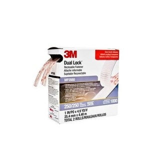 3M Mobile Interactive Solution Mp3560 Dual Lock Reclosable Fastener System-Clear