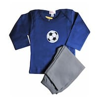 Loralin Design BNS12 Soccer Outfit - Blue  12-18 Months