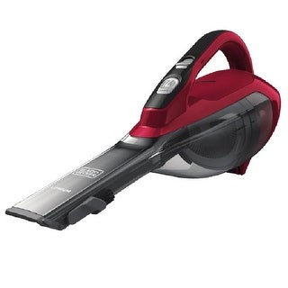 Black & Decker HLVA320J26 Cordless Lithium Hand Vacuum, Chili Red