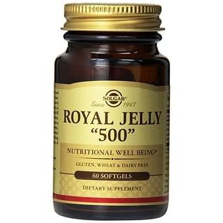 "Solgar Royal Jelly ""500"" (60 Softgels)"