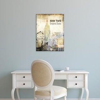 Easy Art Prints Irena Orlov's 'New York Grunge II' Premium Canvas Art