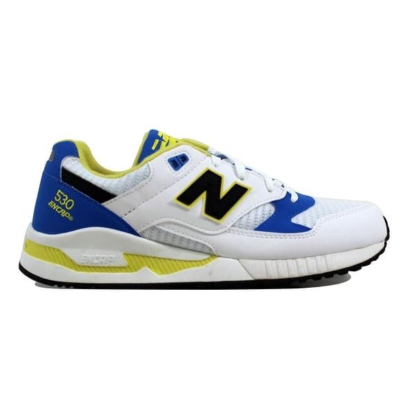 51ce950662003 Shop New Balance 530 90s Running White/Blue-Yellow M530WBY Men's ...