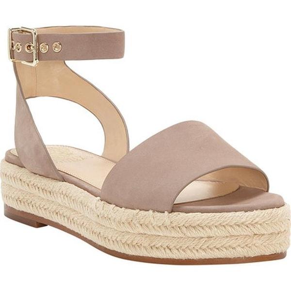 091aa190ded Shop Vince Camuto Women's Kathalia Platform Sandal Dusty Mink Nubuck ...