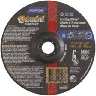 """Norton 66252912626 Metal Cut Off Wheel 7""""x1/16""""x7/8"""",Aluminum Oxide"""
