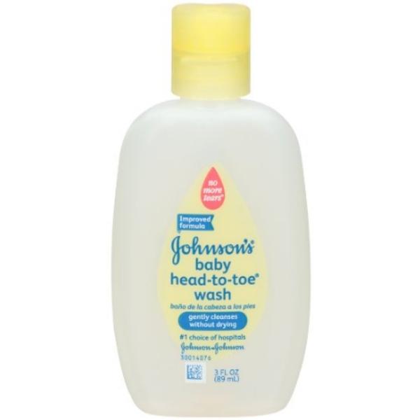 Johnson's Baby Head-To-Toe Wash, 3 oz