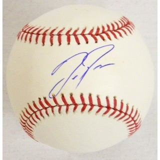 Joc Pederson Signed Rawlings MLB Baseball