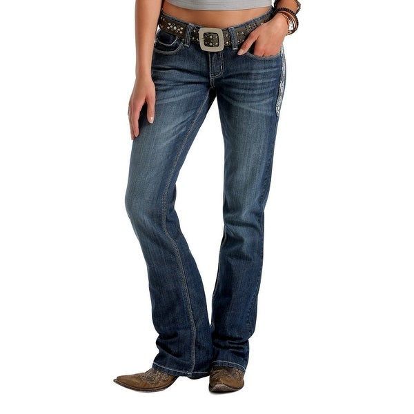 Cruel Girl Western Denim Jeans Womens Blake Slim Fit Med