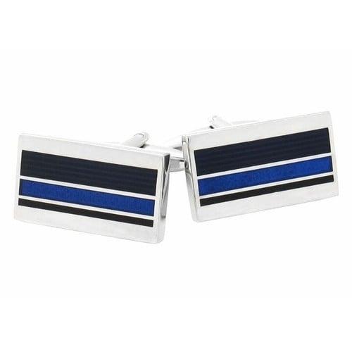Professional Blue Cufflinks