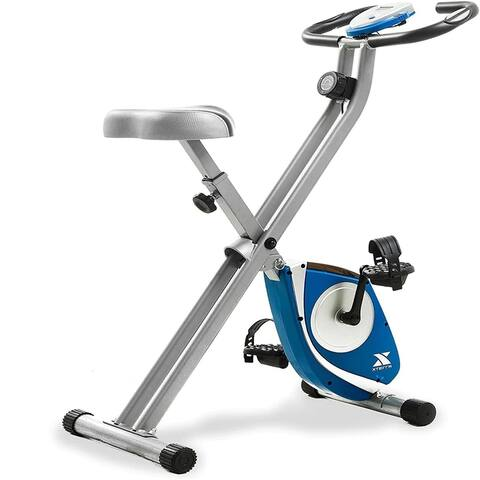 FB150 Folding Exercise Bike, Silver - Medium