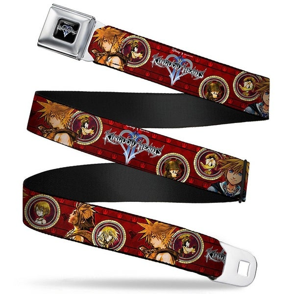 Kingdom Hearts Sora Poses, Friend Cameos Seatbelt Belt