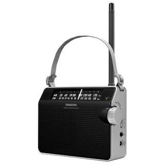 Sangean America - Pr-D6bk - Analog Tuning Prtbl Radio Blk