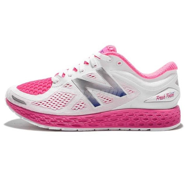 New Balance Womens wzanthp2 Low Top Lace Up Running Sneaker - 6.5