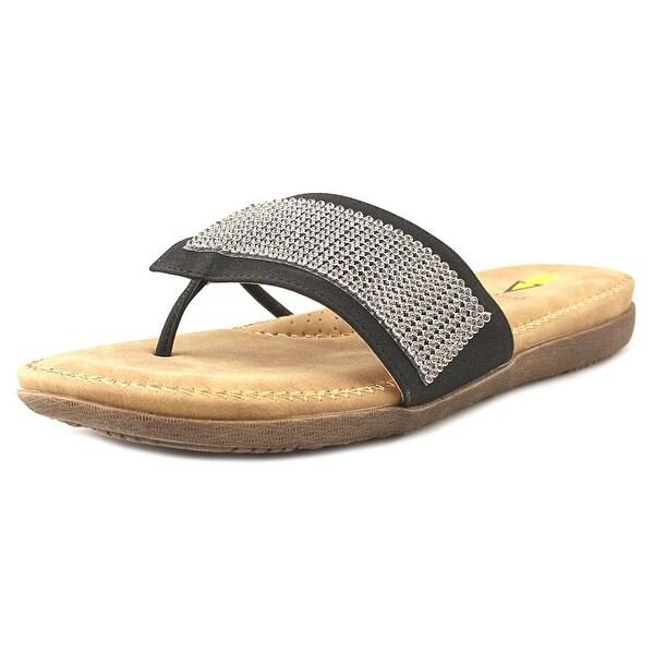 Volatile Delicate Black Sandals