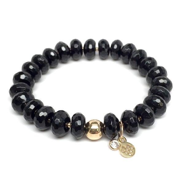 "Black Onyx London 7"" Bracelet"