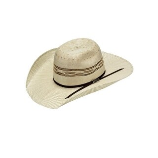 Twister Western Hat Boys Bangora Straw Vented Cowboy Natural T71631