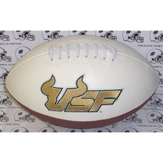 "USF Bulls Embroidered Logo ""Signature Series"" Football"