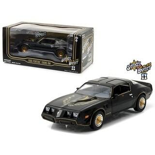 1980 Pontiac Firebird Trans Am 'Smokey and the Bandit 2' (1980) Movie 1/24 Diecast Model Car by Greenlight