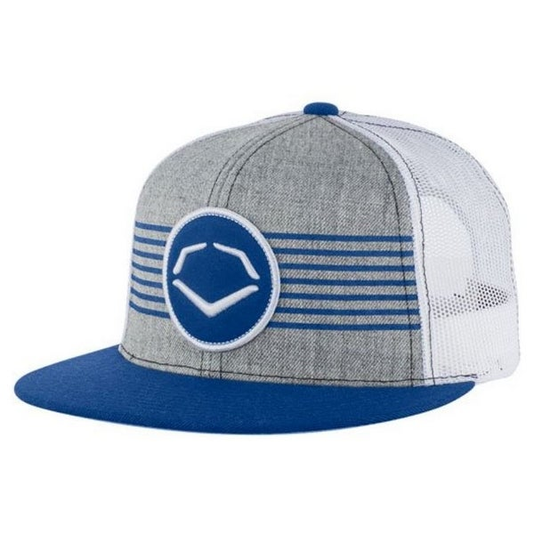 Shop Evo Shield Throwback Patch Snapback Baseball Cap Hat Logo Adjustable  Royal Gray - Free Shipping On Orders Over  45 - Overstock - 23178170 336d72dcb37