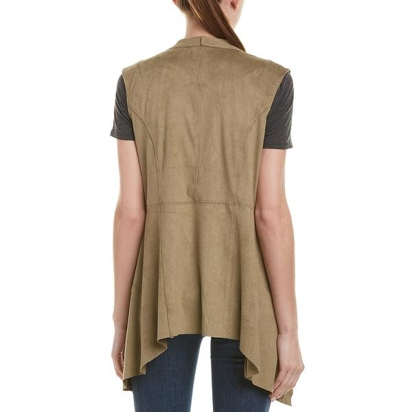 M Olive Jakett Womens Fiorella Perforated Vest