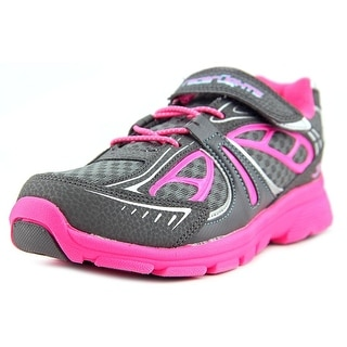 Stride Rite Racer Lights Round Toe Synthetic Sneakers