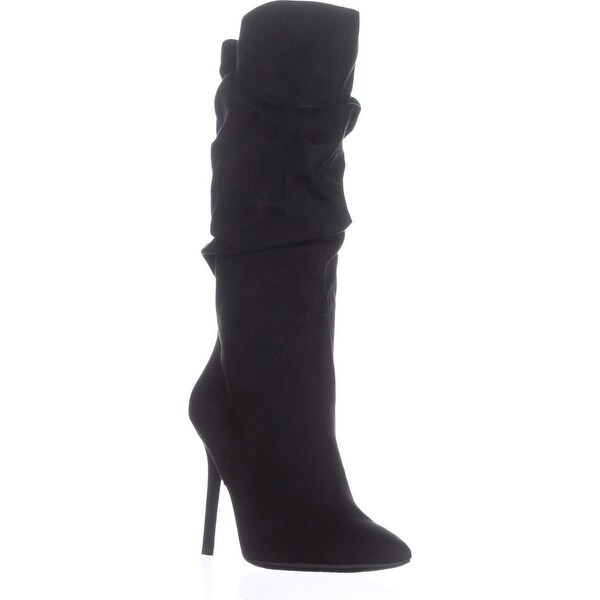 Jessica Simpson Lyndy Pointed-Toe Fashion Boots, Black