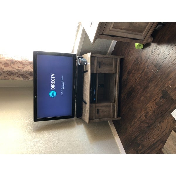 5dee624cb00 Shop South Shore Exhibit Corner TV Stand - Free Shipping Today - Overstock  - 14505547
