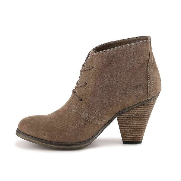 MIA Womens Shawna Closed Toe Ankle Fashion Boots