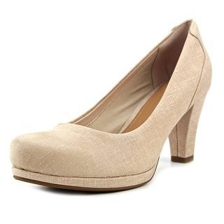 Clarks Artisan Chorus Chic Women W Round Toe Leather Heels