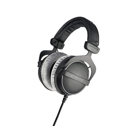 Beyerdynamic DT 770 PRO 80 Ohm Over-Ear Studio Headphones in Black