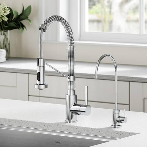 Kraus Purita Drinking Water Dispenser Beverage Kitchen Faucet