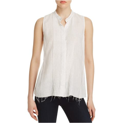 Theory Womens Reeta Button Up Shirt - P