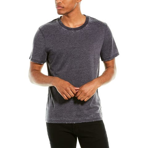 Zadig & Voltaire Ted Distressed T-Shirt - GRIS