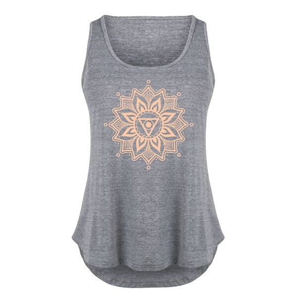Chakra Hamsa - Ladies Plus Size Tank Top
