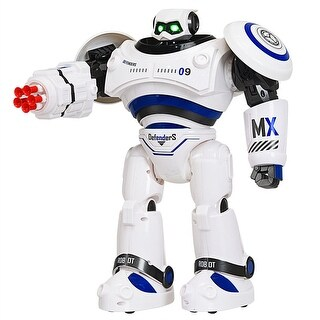 Intelligent Combat Fighting Robot Remote Control Programmable Interactive Toys - Blue