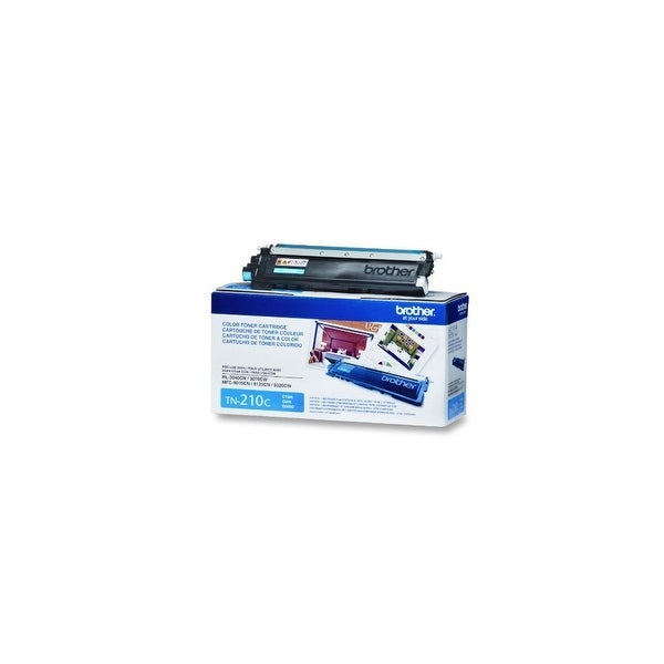Brother TN-210C Brother TN-210 Toner Cartridge - Retail Packaging